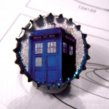 Blue Box Pin