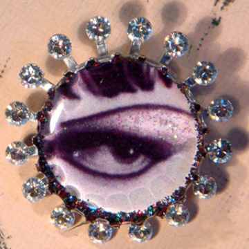 Mystery Eye Brooch
