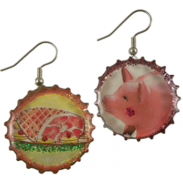 Oh No! Piggy Earrings